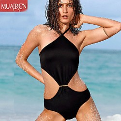 Muairen® Women'S The New Solid ConServative Piece SwimSuit Sexy SwimSuit