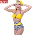 Muairen® Women'S Big Or Small CheSt Gather ConServative Piece Swimwear