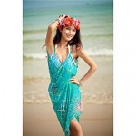 Women's Straped Cover-Ups , Floral Chiffon Multi-color