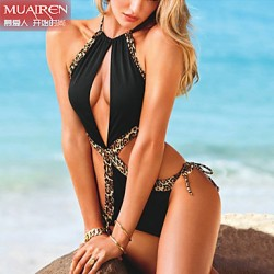 Muairen® Women'S Wild And Elegant ColliSion Piece SwimSuit SwimSuit ControverSy