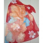 Women Fashion Multi Print Chiffon Wrap Scarf Sarong Bikini Australia Swimwear Australia Swimsuit Australia Beach Cover Up