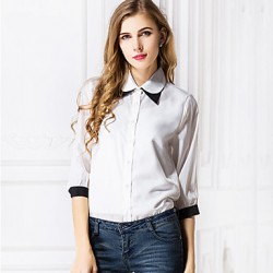 Women's Fashion Chiffon  Shirt