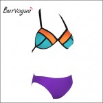 Burvogue Women Sexy Neoprene Bikini Australia Swimsuit Australia Structured Bright Wet Swimwear Australia Suit