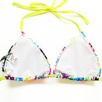Women's Bikinis Australia Push-up/Padded Bras Nylon/Spandex Multi-color