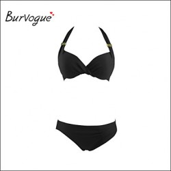 Burvogue Women's Diving Suit Material-neoprene Bikini Australia Set Swimsuit Australia Swimwear