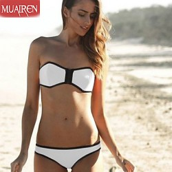 Muairen® Women'S The New SwimSuit Sexy Bikini Australia Bathing Suit Zipper