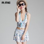 R.ME France 2019 Printing Bikini Australia Set Sexy Beach Wear Swimwear Australia Sandbeach Set Printing Swimsuit