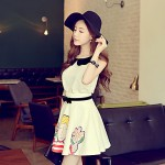Pink Doll®Women's Round Neck Casual Sleeveless Loose Shirt