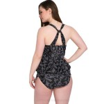 Plus Size Two Piece Cover Belly Tankinis Swimwear Women Swimsuits For Big Girls Fat Swimsuits