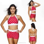 Dots High Waist Sexy Plus Size Swimwear