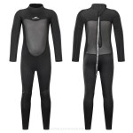 2Mm Man Womens Children Sun Protective Swimwear Long Sleeves One Piece Swimming Quick Drying Diving Suit