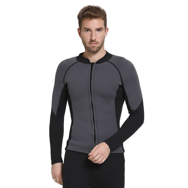 Man 3Mm Thicken Warm Diving Suit Man Waterproof Sun Protective Winter Swimming Suits