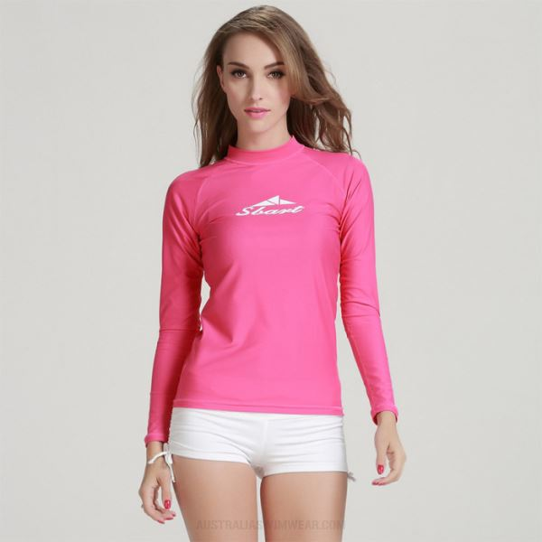 Diving Suit Womens Two Piece Long Sleeves Wetsuit Womens Womens Surf Suit Sun Protective 916