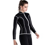 2Mm Warm Wetsuit Snorkeling Suit Top Jacket Warm Cold Proof Swimwear Surfing Diving Suit