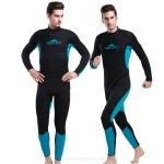 3Mm Man One Piece Diving Suit Thicken Warm Swimwear Sun Protective Surf Suit Long Sleeves Jellyfish Suit