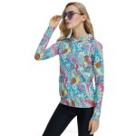 Diving Suit Dive Skin Two Piece Womens Beach Surfing Long Sleeves Sun Protective Wetsuit