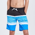 Loose Plus Size Quick Drying Beach Pants Man Boxer Spa Swimming Trunks Seaside Holiday Shorts