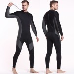 3Mm Diving Suit Thicken Warm Winter One Piece Long Sleeves Dive Skin