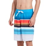Loose Plus Size Quick Drying Beach Pants Man Boxer Spa Swimming Trunks Seaside Holiday