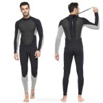 Man 3Mm One Piece Diving Suit Two Piece Thicken Waterproof